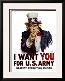 I Want You for the US Army  c1917