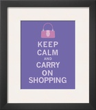 Keep Calm  Shopping