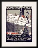 Anchor Line  Glasgow to New York