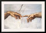 Creation of Adam Detail Hands