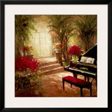 Illuminated Music Room