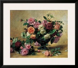 Still Life with Mixed Roses