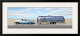 Classic Car with Mobile Home