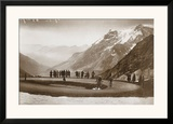 Snow on the Galibier  c1924