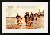 Oyster Gatherers of Cancale  1878