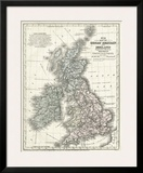 Mitchell's Map of Great Britain & Ireland