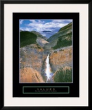 Values: Takakkaw Falls
