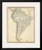 South America  c1842