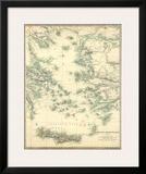 Grecian Archipelago  Ancient  c1843