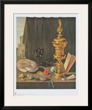 Still Life with Tall Golden Cup