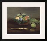 Basket of Fruit  about 1864