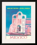 Western Airlines: Mexico  c1959