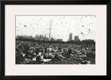 Peace Demonstration  Central Park  New York  c1970