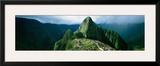 Machu Picchu  Andes  Peru