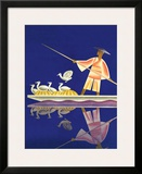 Birds and Boatman