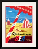 Fly to Europe - British European Airways