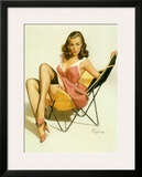 Pin-Up Girl: Beach Chair
