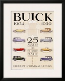 Twenty-Five Years of Buick Automobiles