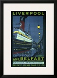 Liverpool and Belfast