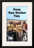 Keep Your Station Tidy  BR  1979