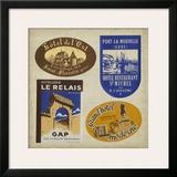 Vintage Travel Collage II