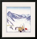 Switzerland  VII Summer Glacier Ski
