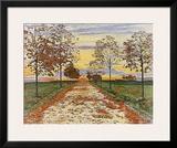Herbstabend  c1892