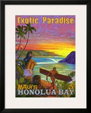 Exotic Paradise  Honolua Bay