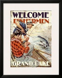 Grand Lake  Welcome Fishermen