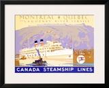 Canada Steamship Lines  Montreal-Quebec