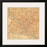 Mapa di Firenze  1896