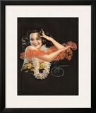 Hawaiian Pin Up Girl c1946