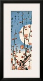 Blossoming Plum Tree with Full Moon
