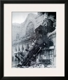 Train Wreck at Montparnasse  Paris  France 1895