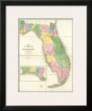 Map of Florida  c1839