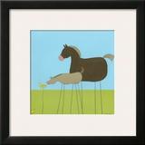 Stick-Leg Horse II
