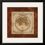Red Damask Map II