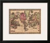 Map of the World  c1867