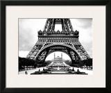 La Tour Eiffel et le Vieux Trocadero