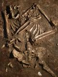 Neanderthal Skeleton  Kebara Cave  Israel