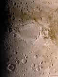 Schiaparelli Crater  Mars  Artwork