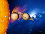 Sun And Its Planets
