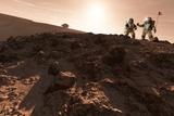 USA-China Exploration of Mars  Artwork