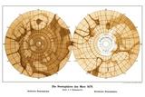 Schiaparelli's Map of Mars  1879