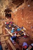 Excavation At Galeria