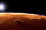 Gusev Crater  Mars  Artwork