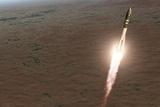Launch of Vostok 1 Spacecraft  Artwork