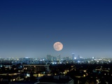 Full Moon Over Beverly Hills  USA