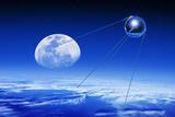 Sputnik 1 Satellite  Composite Image