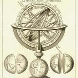 Armillary Sphere  18th Century Artwork